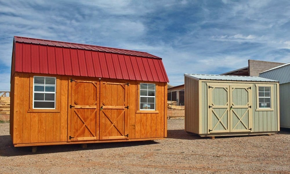 Storage Sheds and Barns in Utah