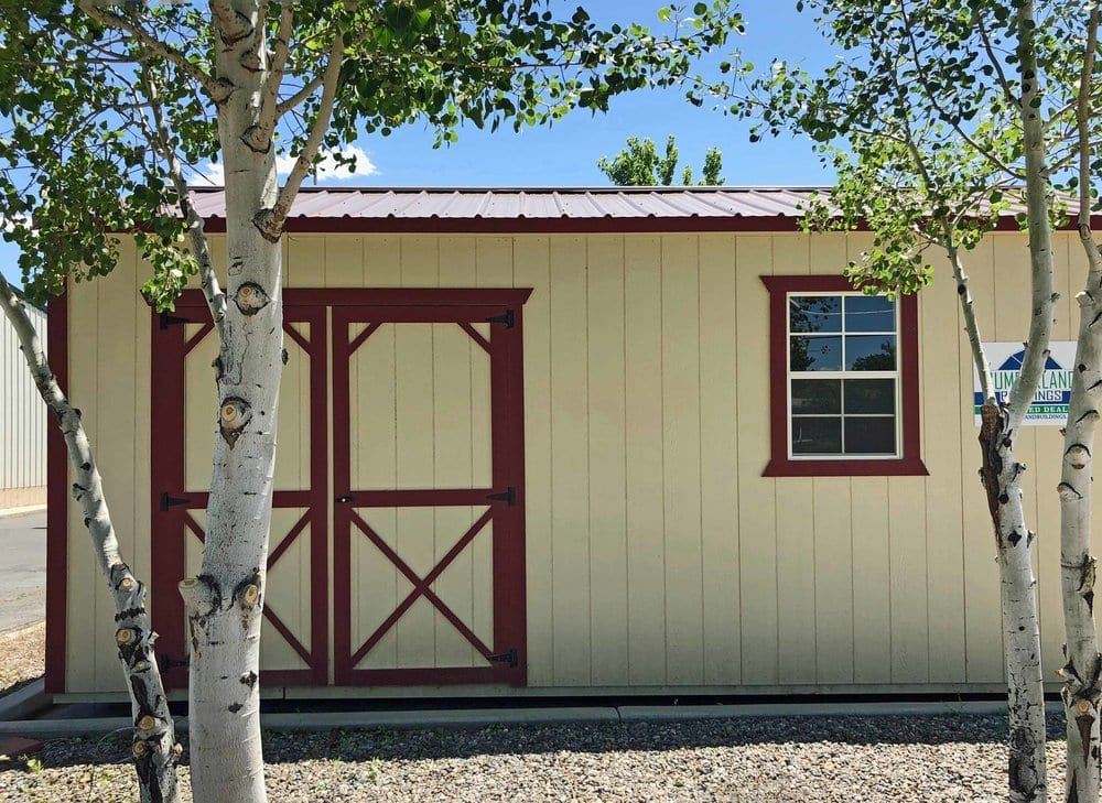 Backyard Storage Shed - Cumberland Buildings