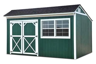 Cottage Shed Painted