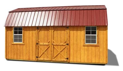Side Lofted Barn Stained
