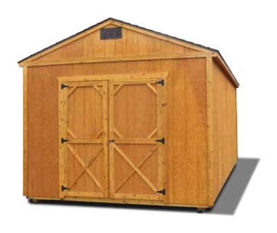 Stained Utility Shed