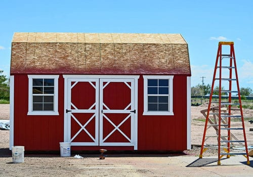 Red Lofted Barn