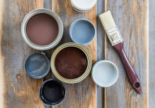 Storage Buildings: Painted vs. Stained