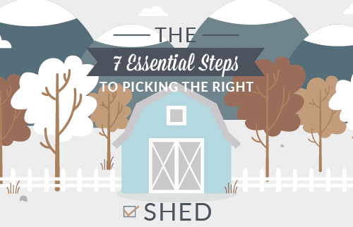 The 7 Essential Steps to Picking the Right Shed