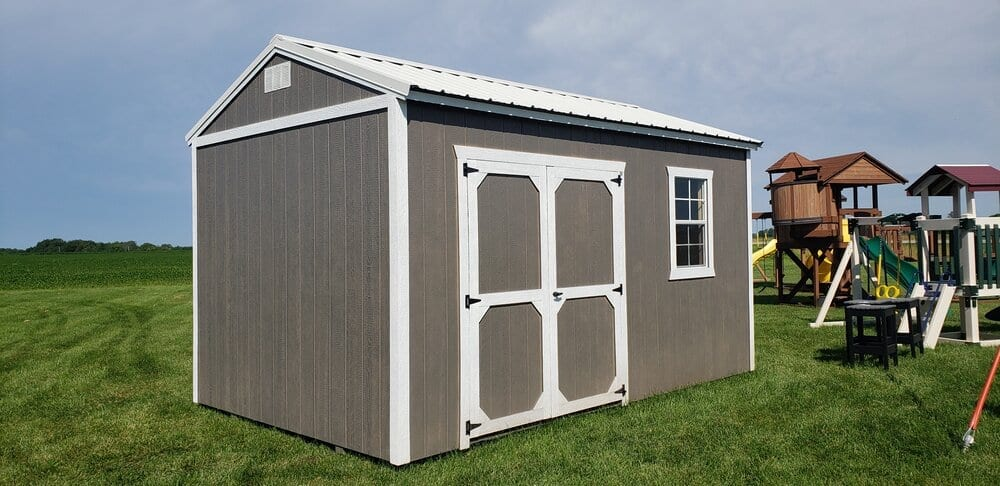 Side Utility Shed by Cumberland Buildings