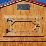 Opening Loft Door