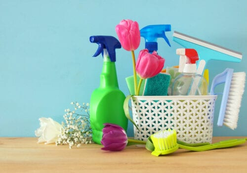 5 TIPS TO GET A JUMP START ON YOUR SPRING CLEANING TASKS