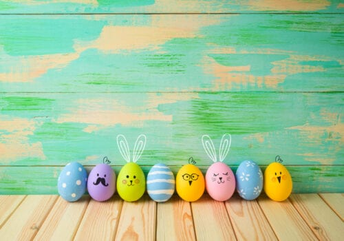 DIY Easter Decor in Less Than 10 Minutes